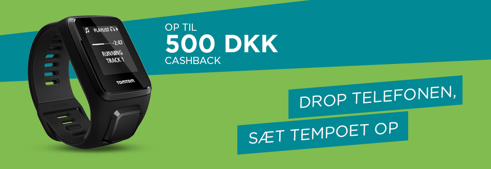 Kampagne for TomTom Runner Cashback